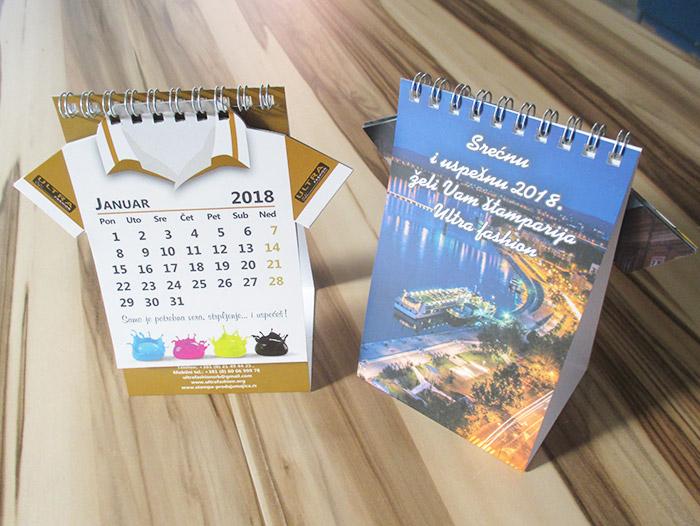 štampa kalendara